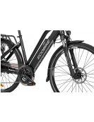 Ecobike S-Cross L, black, 19""