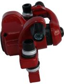 Brake body for rear and front axle - Jak 5, red