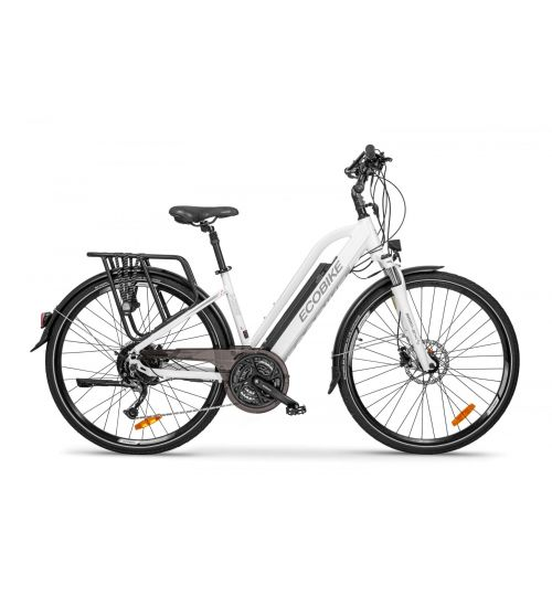 Ecobike S-Cross L, white, 17""