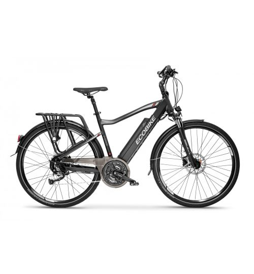Ecobike S-Cross M, black, 20""