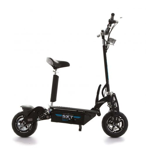 SXT1600 XL electric scooter, black