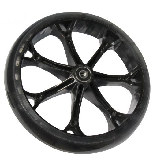 8 inch PU wheel for front & rear, rear
