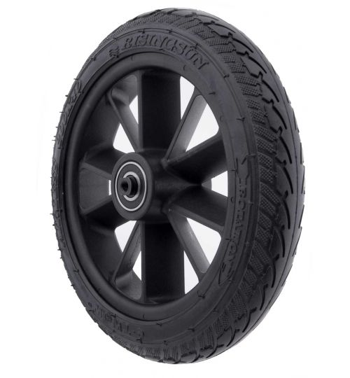 rear tire with rim (rubber)