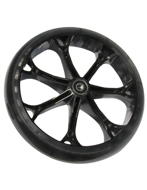 8 inch PU wheel for front & rear, front