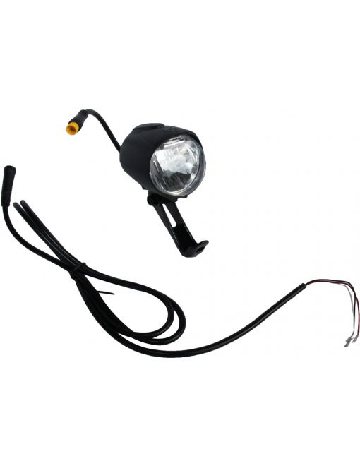 LED front light black 12V