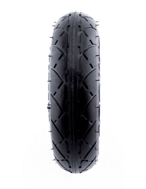 Hollow tire for front and rear axle