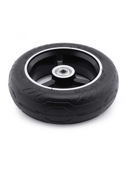 Rear tire with rim